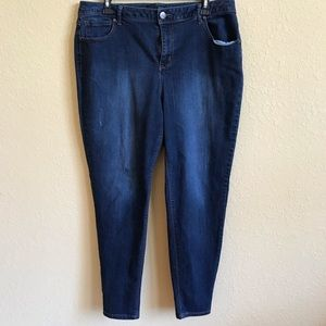 Lightly Distressed 1822 Adrianna Jeans